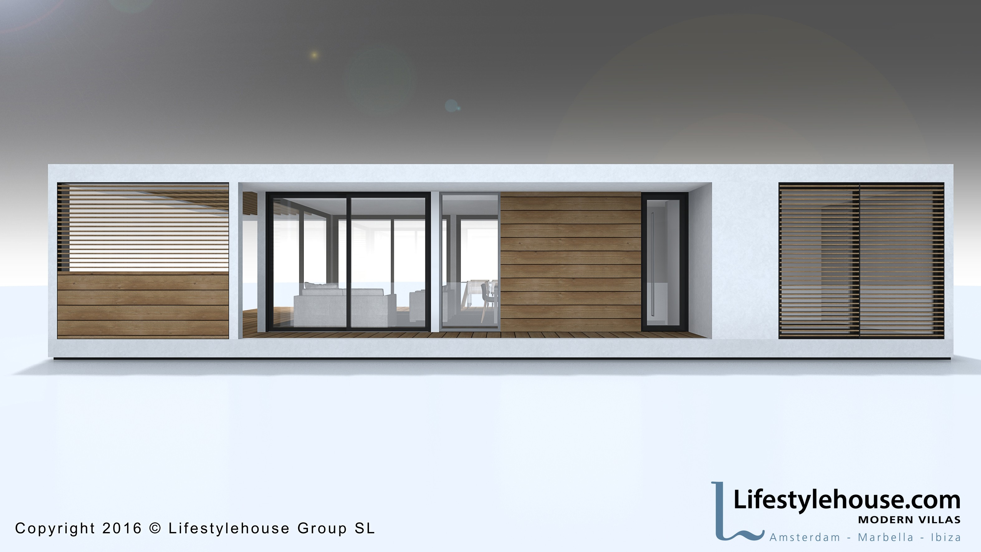 Lifestylebeachhouses - Moderne chalet keuken ...